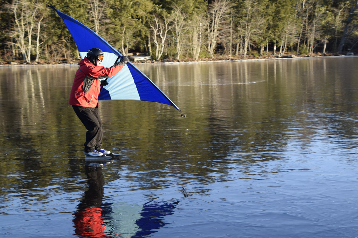 skateboard wingsail